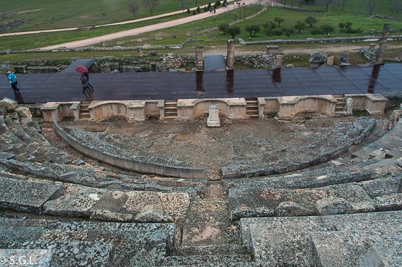 El teatro de Segobriga. La ciudad romana de Cuenca