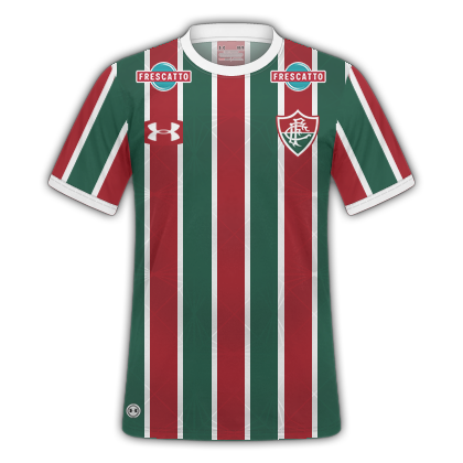 PDR Camisas  Fluminense Home   Away 2017-18   Under Armour 7dc28f90edc8a