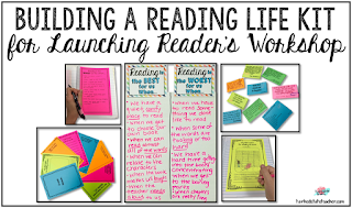 Building a Reading Life Readers Worskhop Launch Kit