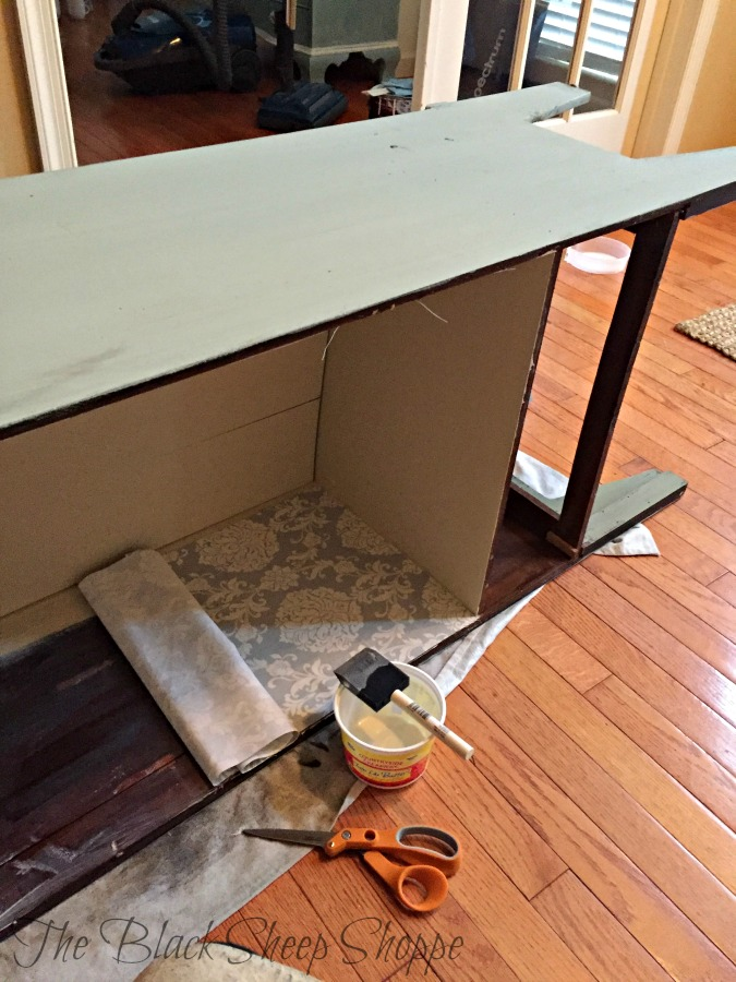 Unsightly cabinet interior? Follow these steps for a beautiful finish!