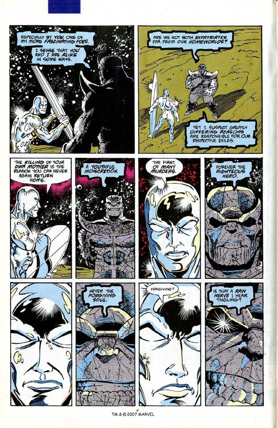 Read online Silver Surfer (1987) comic -  Issue #50 - 8