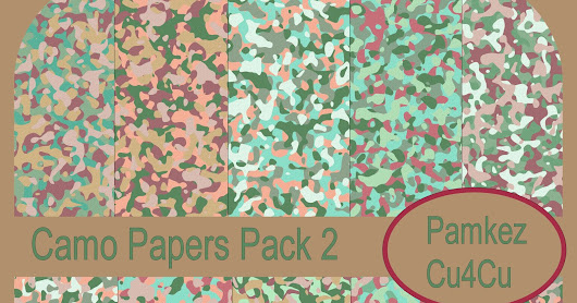 Camo Papers Pack 2