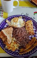 Traditional Breakfast in Nicaragua