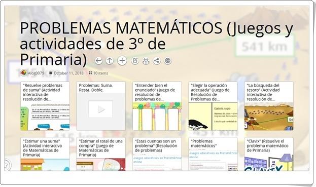 Matemáticas De Educación Primaria 10 Juegos Y Actividades Interactivas Sobre Problemas Matemáticos De 3º De Primaria