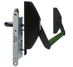 Montaje de cerraduras antipánico