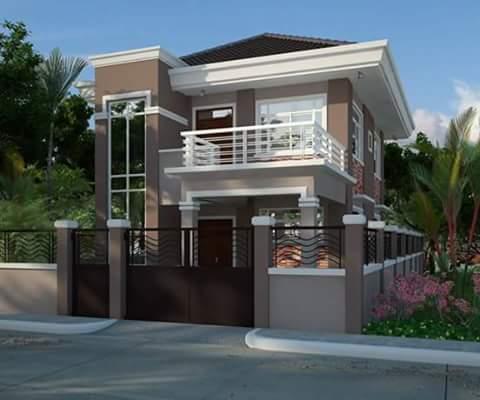 62 Gambar Rumah Minimalis 2 Lantai Modern Terindah Dan Elegan