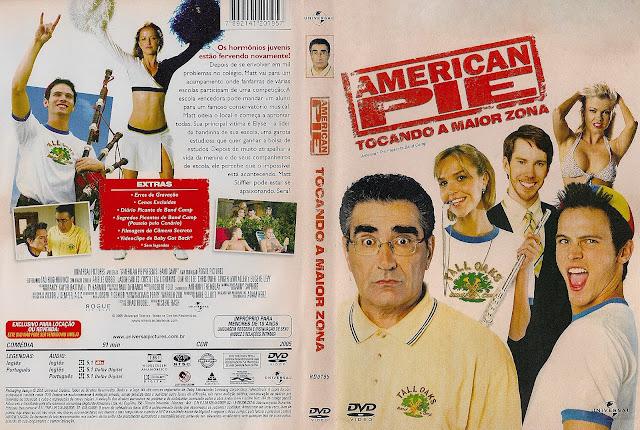 Capa DVD American Pie Tocando A Maior Zona