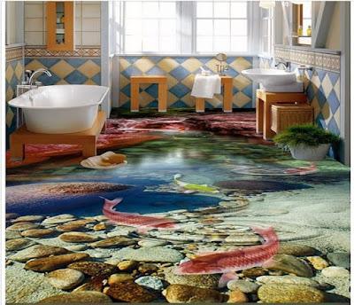 Realistic 3D Flooring Murals And 3D.