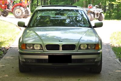 Eksterior BMW E38 Seri-7 Prefacelift