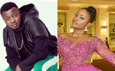 Unbelievable: See how Nigerians reacted as Nollywood star, Etinosa strip off clothes on Mc Galaxy's Instagram Live video