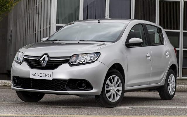 Novo Renault Sandero 2017
