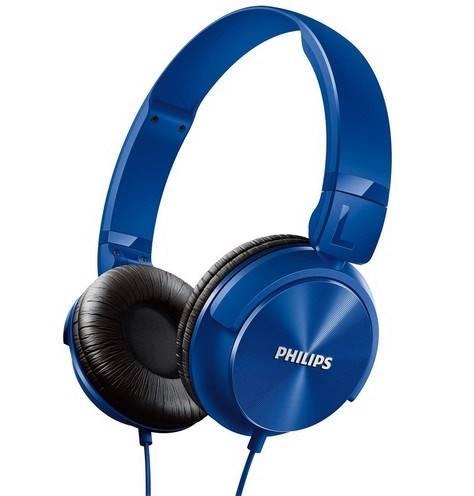 Fone de ouvido da Philips tem conchas acústicas e modelos coloridos