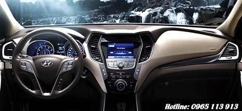 khoang lái Hyundai SantaFe