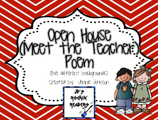 Teaching Blog Round Up Open House Ideas And Some Freebies
