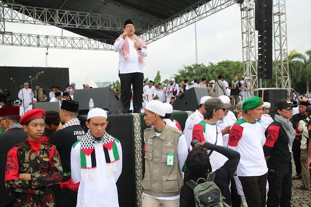 Orasi di Aksi Bela Palestina, Fadli Zon Beri Pernyataan Menohok ke Presiden Jokowi