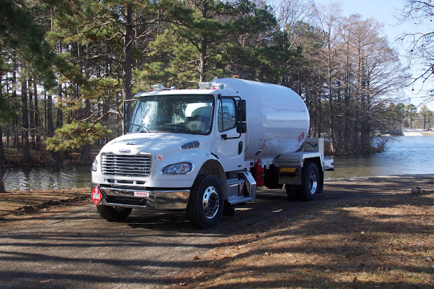 Freightliner Bobtail Truck - Year of Clean Water