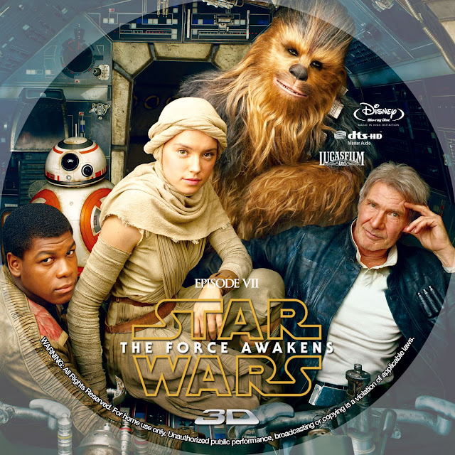 Label Bluray Star Wars The Force Awakens