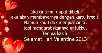 Kata Kata Ucapan Hari Valentine Untuk Kekasih
