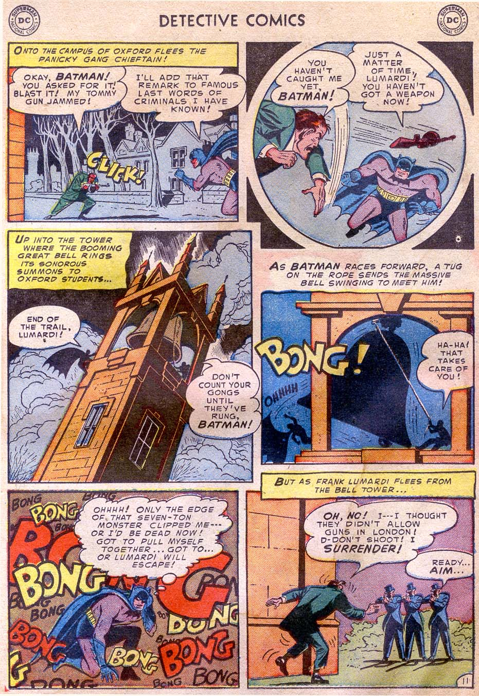 Read online Detective Comics (1937) comic -  Issue #196 - 13