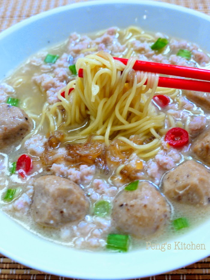 how to cook bak chor mee