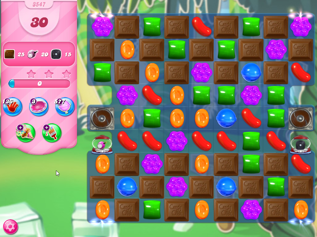 Candy Crush Saga level 3547