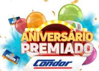 Promoção Condor 2018 Aniversário 44 Anos Raspadinha