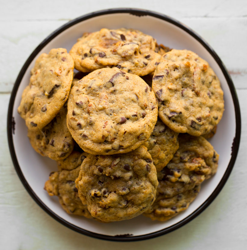 Chocolate Chip Orange Spice Cookies