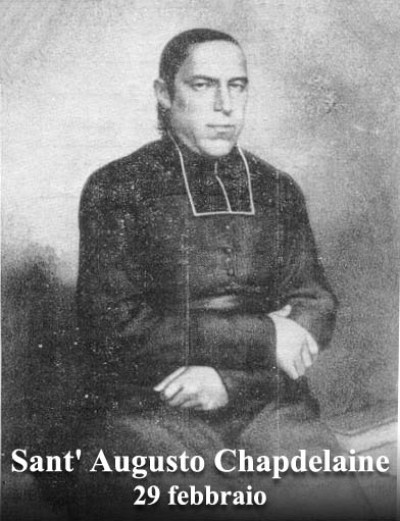 sveti Avgust Chapdelaine - duhovnik in misijonar, mučenec