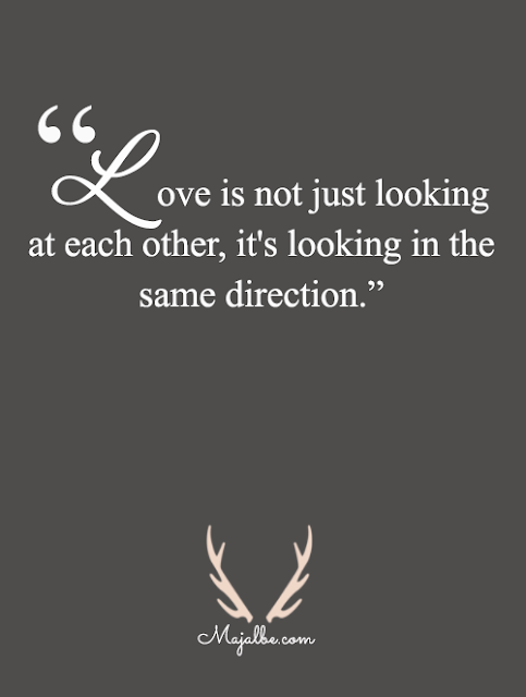 Love Is A Same Direction Love Quotes