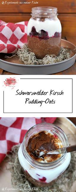 Schwarzwälder Kirsch Pudding Oats | Frühstück | Haferflocken | Essen | Rezept | Weight Watchers