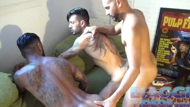 Andy Star, Matazaro, Antonio Biaggi – Latin 3Way 2 (Bareback)
