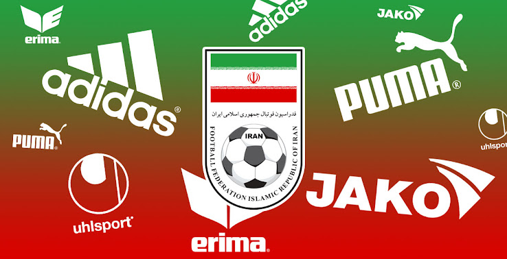 exclusive new logo and supplier iran 2018 world cup kit info