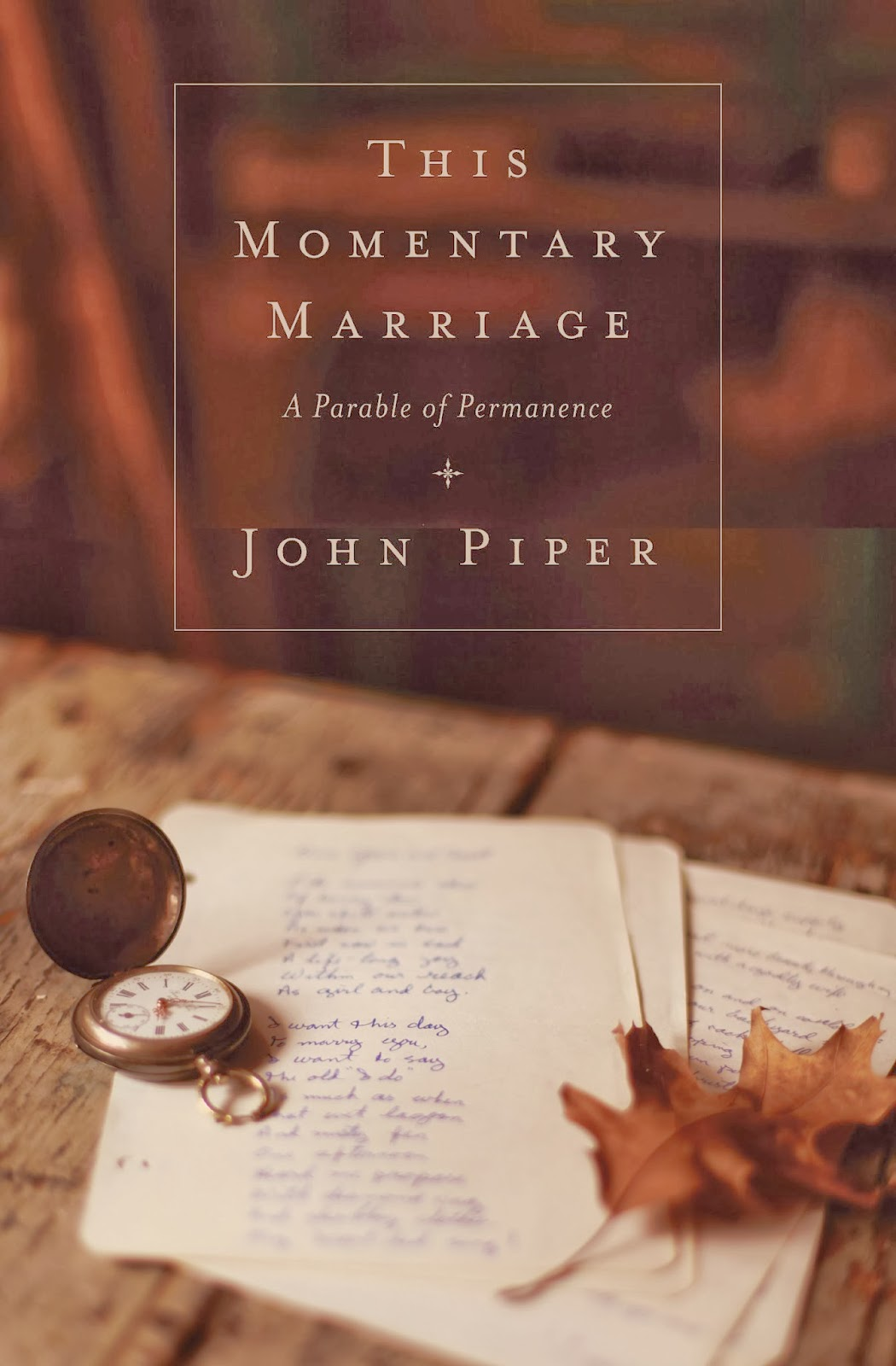 John Piper-This Momentary Marriage-
