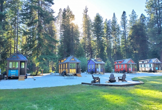 Tiny House community in Leavenworth, Washington