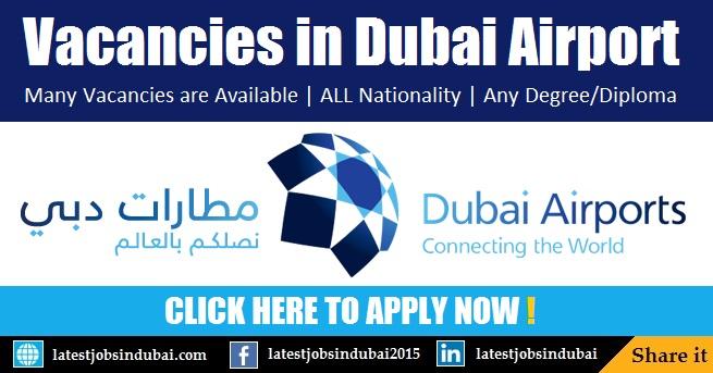 Dubai Airport Jobs and Careers in Dubai 2017