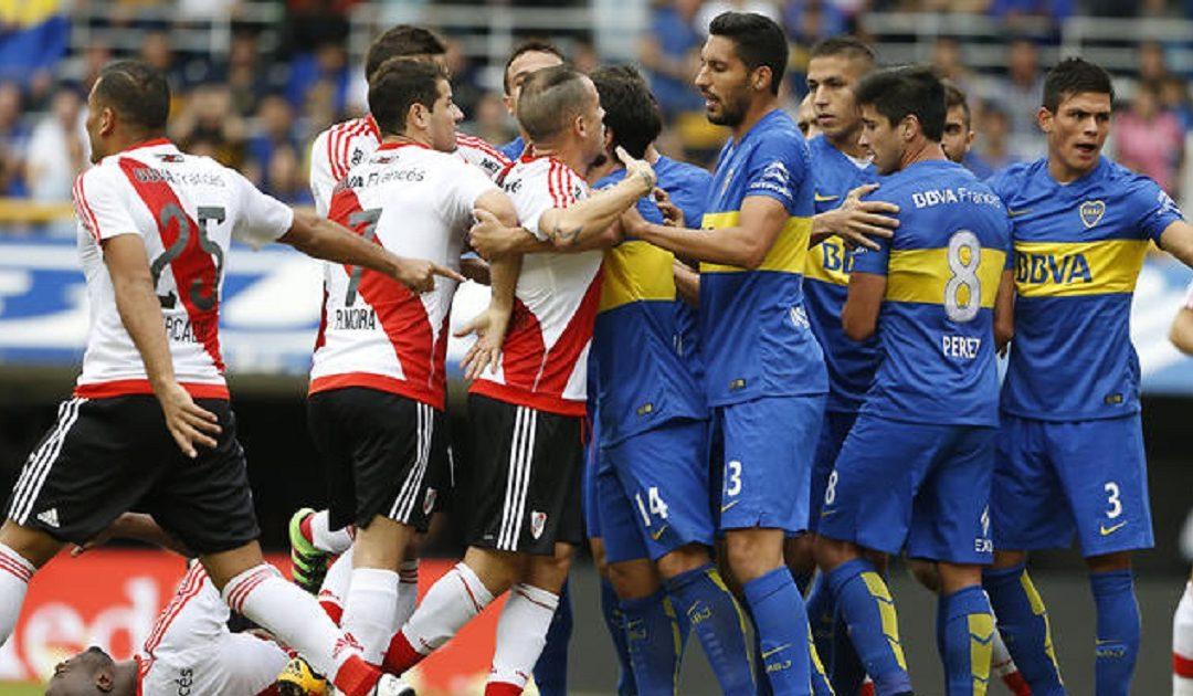 """""""ديربي الموت"""" يجمع فريقي """"ريفر بليت"""" بغريمه الأزلي """"بوكا جينيور"""" في مدريد"""