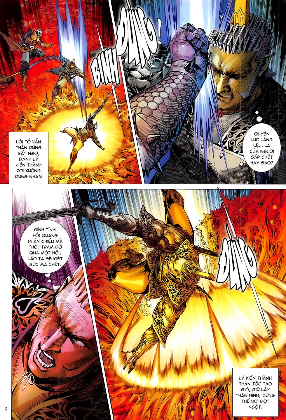Thiết Tướng Tung Hoành Chap 174