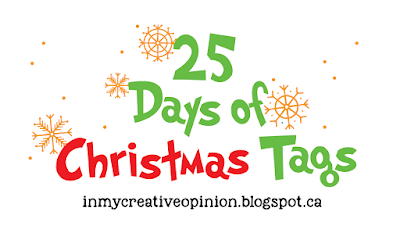 25 Tags of Christmas 2018