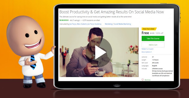 [100% Off] Boost Productivity & Get Amazing Results On Social Media Now|Worth 195$