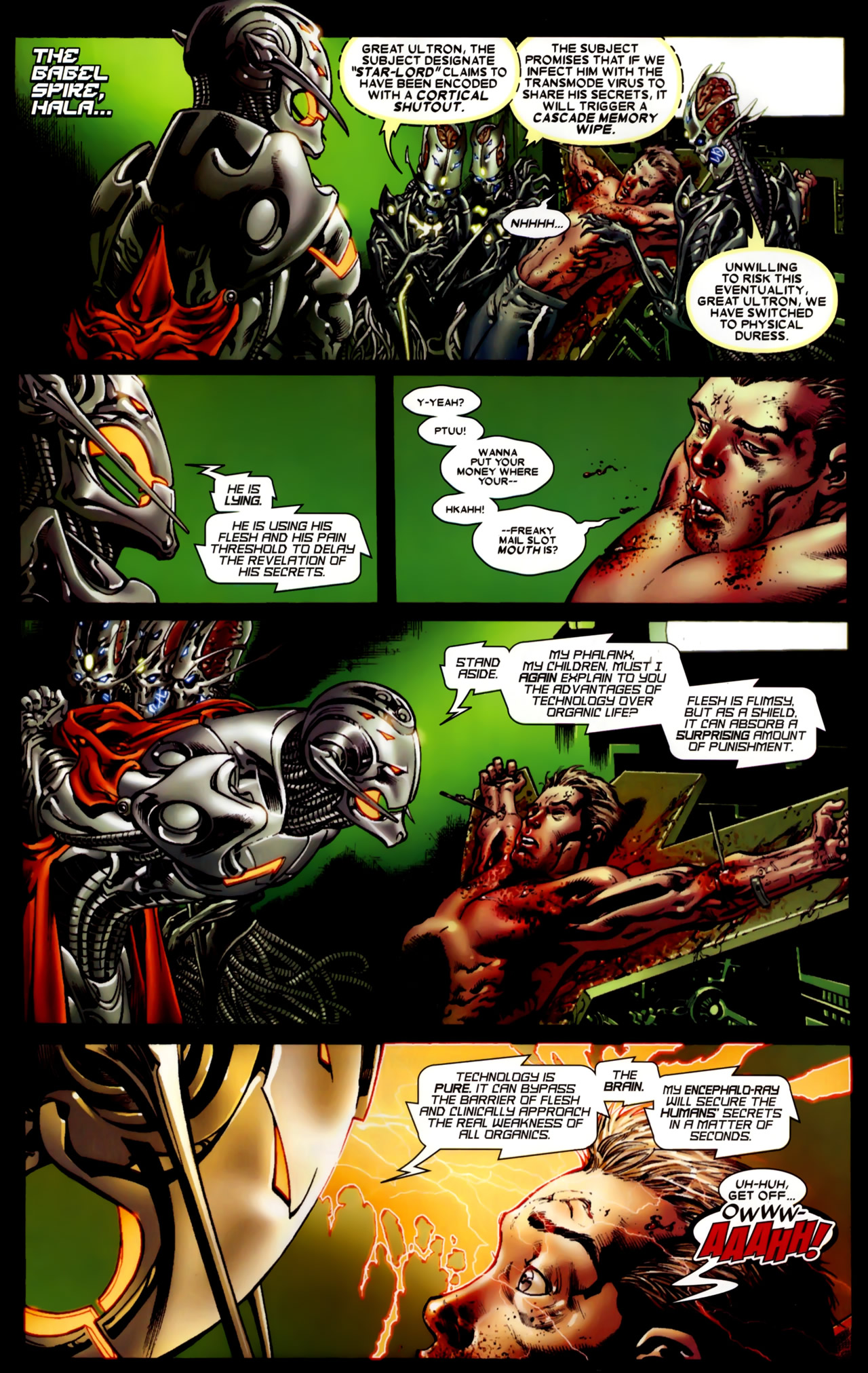 Read online Annihilation: Conquest comic -  Issue #4 - 4