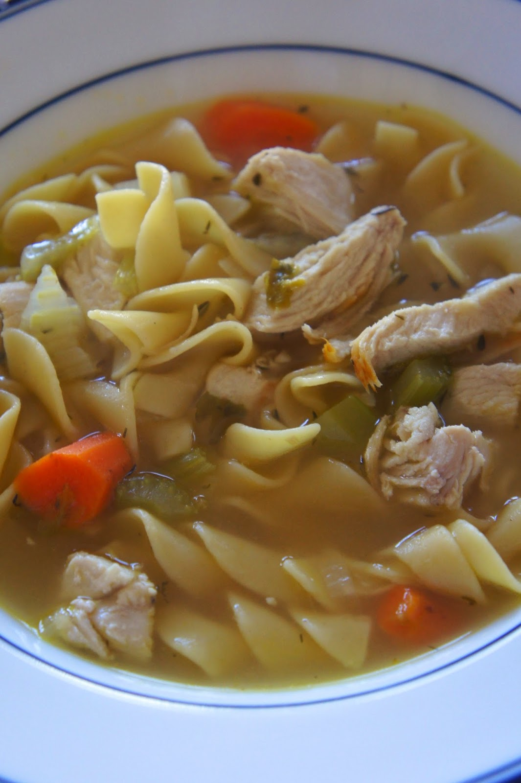Homestyle Chicken Noodle Soup: Savory Sweet and Satisfying
