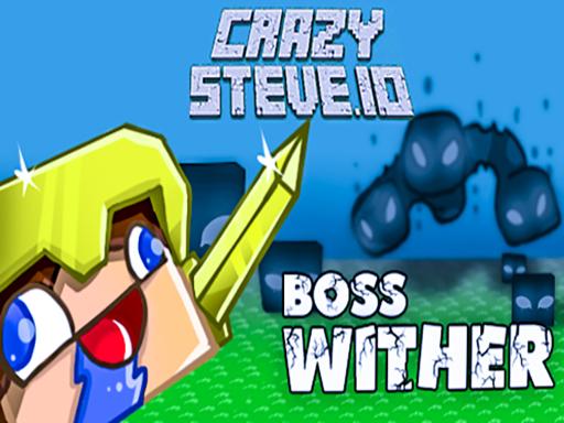 Çılgın Steve .io - Crazy Steve .io