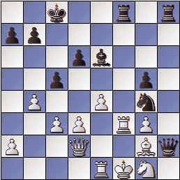 Partida Díez del Corral - Ribera en 1951, posición después de 23.Cg1