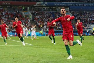 Cristiano Ronaldo é a atração do sétimo dia de Copa do Mundo