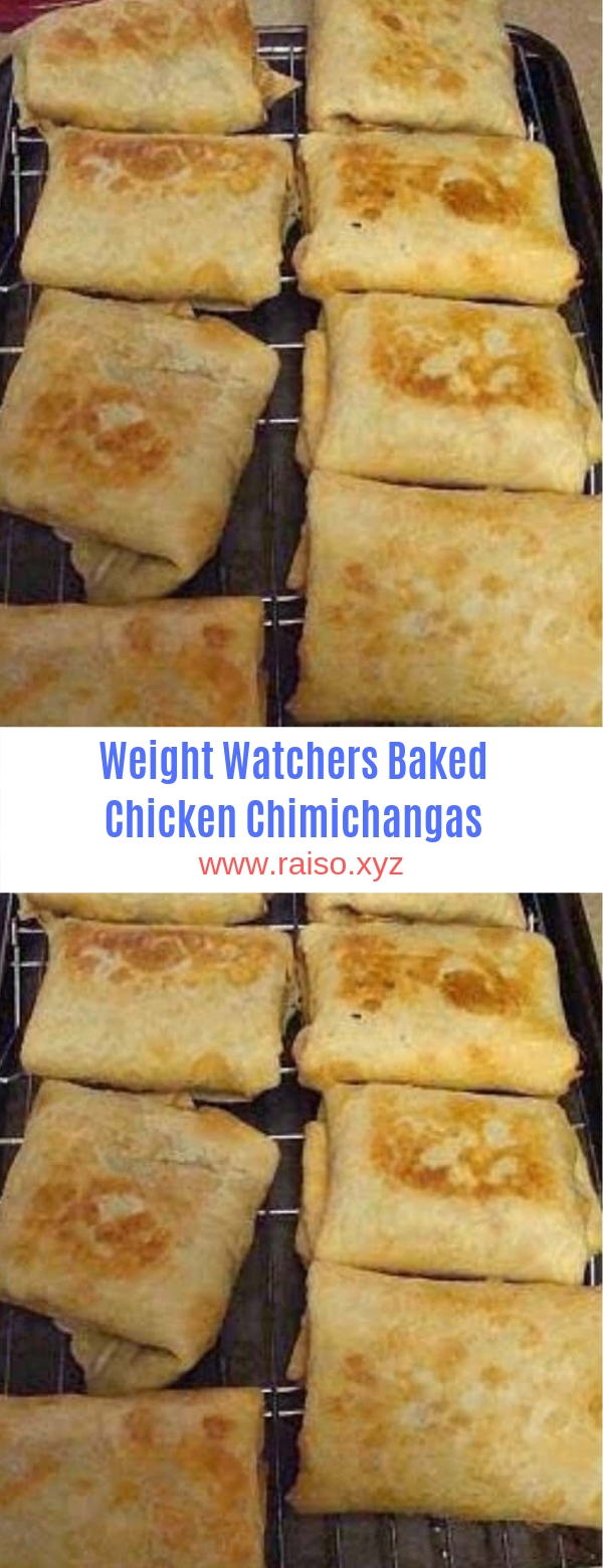 Weight Watchers Baked Chicken Chimichangas