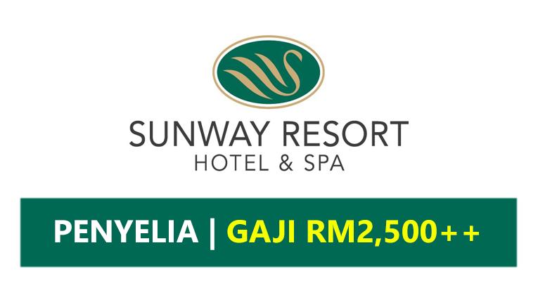 Jawatan Kosong di Sunway Resort Hotels & Spa