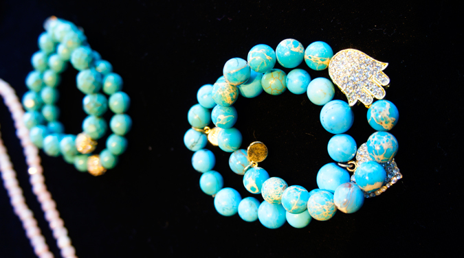 Jacqueline Lapuck bracelet