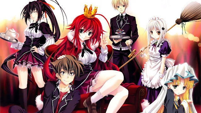 High School DxD BD (Episode 01 – 12) Sub Indo + 2 OVA