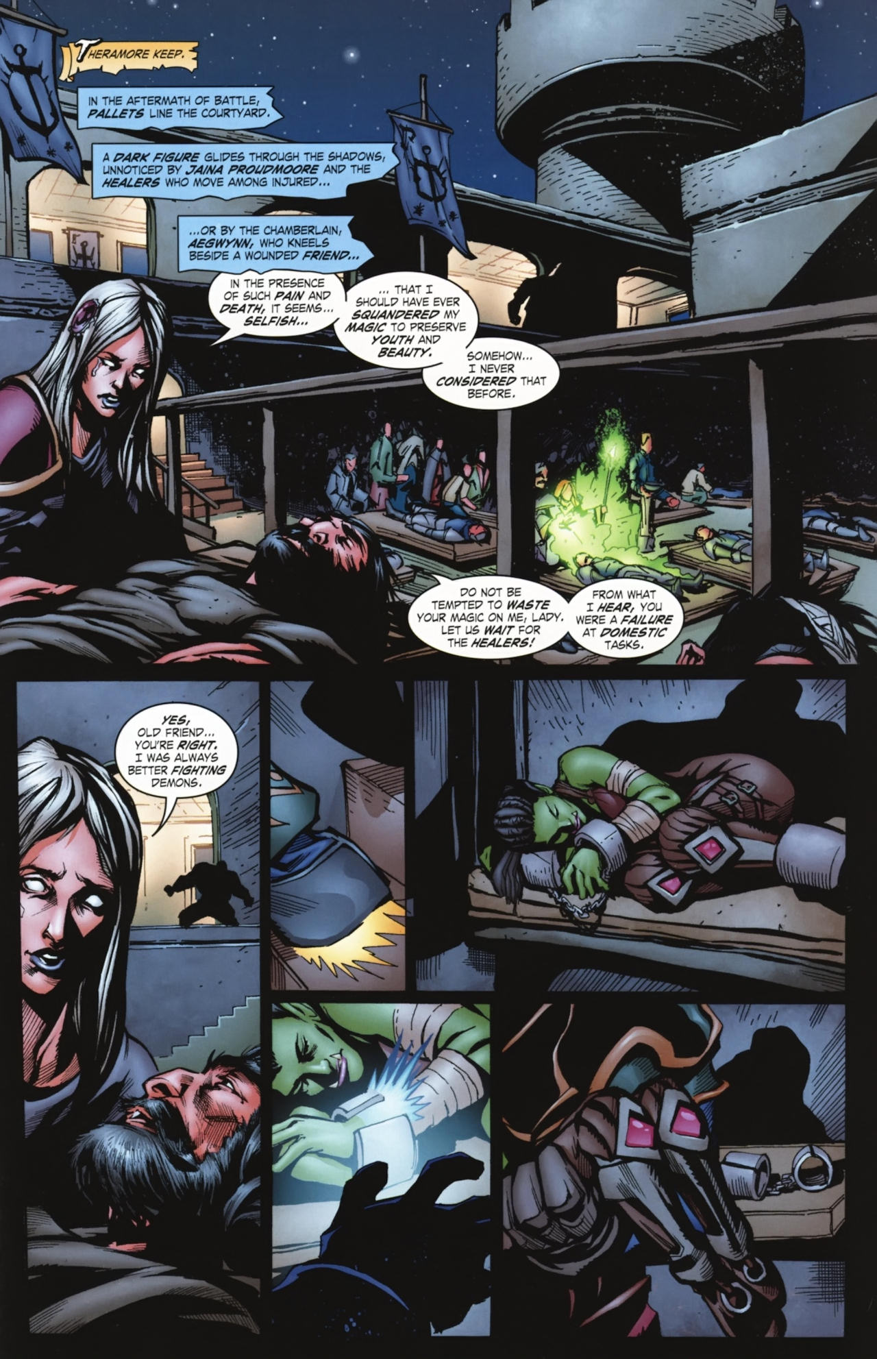 Read online World of Warcraft comic -  Issue #20 - 20