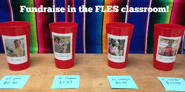 Heifer International fund raising project for Spanish class